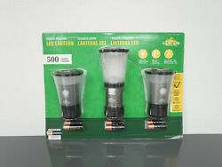 Cascade Mountain Tech Compact Collapsible LED Lantern 3 Pack $18.00