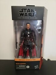 STAR WARS BLACK SERIES MANDALORIAN MOFF GIDEON HASBRO FIGURE IN HAND 🔥🔥 $33.75