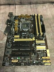 Asus Motherboard Z87 C Intel i Series No CPU Included Tested $51.99