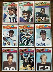 1977 Topps Complete Football NFL Set Steve Largent RC. With Binder BCW Pages $329.00