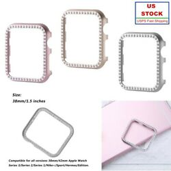 iWatch Protect Case Crystal Covers Shell 38 42mm for Apple Watch Series 3 2 1 US $6.56