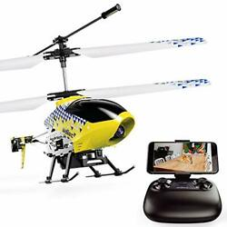 U12S Mini RC Helicopter with Camera Remote Control Helicopter for Kids Yellow $66.63