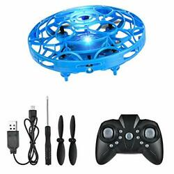 FlyNova Mini Drone Hand Drone Flying Toys Drones for Blue with remote control $14.80