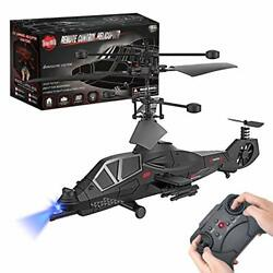 3.5 Channel Remote Control Helicopter RC Army Heli Toy with Gyro amp; Led for $32.60