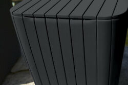 Keter All Weather Patio Storage Table Graphite Matte Smart Travel $98.00