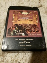 101 Strings Orchestra Plus Cocktail Piano 8 Track tape untested $4.99