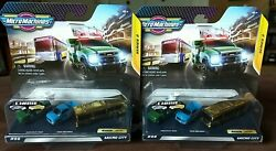 Micro Machines 2020 Series 2 #06 Micro City Ultra Rare Chase Gold Bus LOT of 2 $24.99