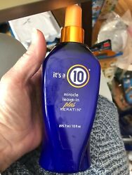 Its a 10 miracle leave in plus keratin 10 oz NEW Authentic $23.99