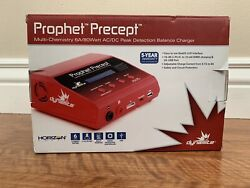 Dynamite Prophet Precept RC Charger AC DC Peak Lipo NiMH USB Adapter Extras $75.00