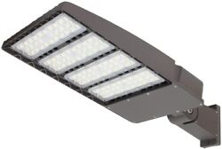 300W LED Parking Lot Lights Commercial Outdoor IP65 Shoebox Street Pole Lights