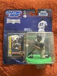 MO VAUGHN Starting Lineup MLB 1999 Extended Figure amp; Card Angels BRAND NEW $9.99
