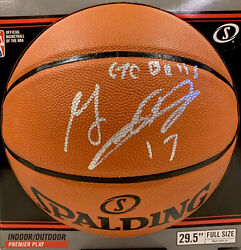 "GARRETT TEMPLE Signed Spalding NBA Basketball Autographed Inscribed ""Go Bulls"" $84.99"