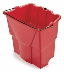 Rubbermaid Commercial Products Dirty Water Bucket for WaveBrake 2.0 35 Qt. Mop B
