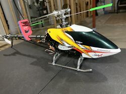 Thunder Tiger E325 MiniTitanV2RC Helicopter Used.similar To ALIGN TREX 450parts $260.00