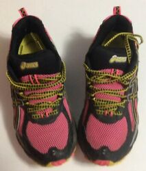 Asics Running Shoes Hot Pink and Black Women's Size 6 $15.45