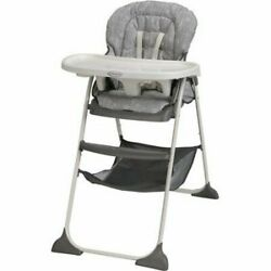 Graco 1927570 Slim Snacker High Chair Gray $69.00