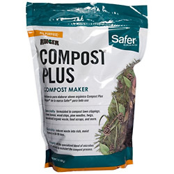 Safer 3050 6 Ringer Plus Compost Starter Kit Brand 2 lb White $17.56