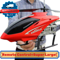 Super Large Helicopter Rc Model Vehicle Remote Control Outdoor Aircraft Toy New $59.99
