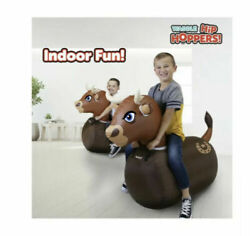 Waddle Bouncer Large Inflatable Bull Bouncer Brown Toy $24.99