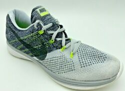 Nike Lunar Flyknit 3 US 12 Mens Shoes Wolf Gray Black White 698181 009 $39.99