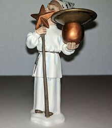 Carl Larsson Figurine Small Star Boy w candle holder 5quot; $20.00