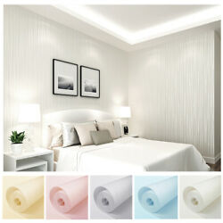 Modern Wallpaper Non Woven Fabric Wall Sticker for Wall Living Room Home Decor $12.88