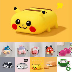 Cute 3D Cartoon AirPods Silicone Case Protective Cover For Apple AirPod 1 2 Pro $8.56