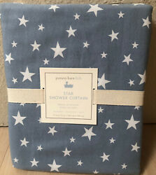 Pottery Barn Kids Star shower curtain blue NWT 72x72 Inches $28.00