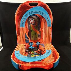 Hot Wheels Foldable Race Track amp; 2 Controllers. Portable Carry Anywhere $25.90