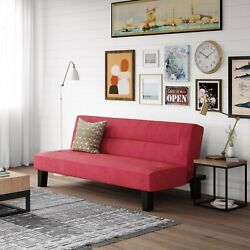 SLEEPER SOFA BED FUTON Convertible Couch Lounger Modern Living Room Loveseat NEW $154.28