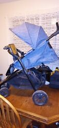 Evenflo stroller with stand on playform for older child max weight. Guc C $85.00