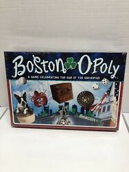 BOSTONOPOLY Board Game Monopoly Late For The Sky Game USA NEW. G13 $8.50