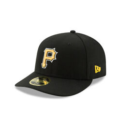Pittsburgh Pirates New Era On Field Low Profile ALT 59FIFTY Fitted Hat Black $24.99
