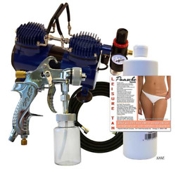 Paasche Quick Application Airbrush Tanning Kit with Quiet Compressor $349.00