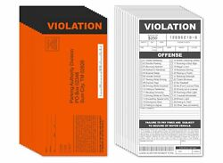 25 Fake Parking Tickets Prank Joke Funny Pretend Police Cop Gag Violation Fun $9.99