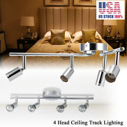 LED Kitchen Ceiling Lamp Wall Spotlight Foldable Track Lights Living Room GU10 $26.24