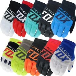 New FOX Gloves Racing Motorcycle Gloves Cycling Bicycle TMD MTB Bike Riding $16.99