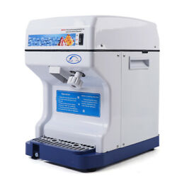 250W Commercial Ice Maker Ice Shaving Machine Ice Shaver Ice Crusher 320r min US