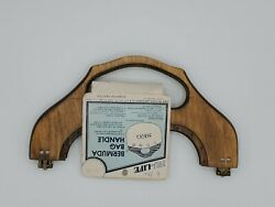Vintage Wooden Purse Frame Bermuda Bag Pattern Nu Life Boho DIY Sewing D 100 $12.99