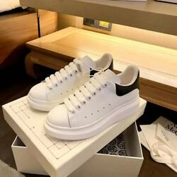 Alexander McQueen Super Classic White Black Tail Casual White Athletic Shoes 6 1 $226.99