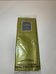 Hallmark Tissue Paper Gold gift wrapping 5 sheets $9.00