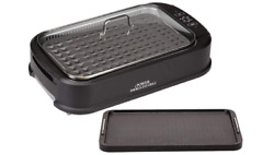 Power XL Smokeless Electric Indoor Removable Grill and Griddle Plates Black $49.15