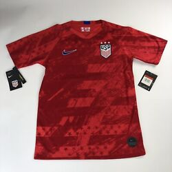 Nike USA Soccer Jersey Large Youth 3 Star #13 Alex Morgan Red New CQ4245 688 $29.99