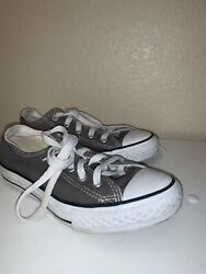Converse All Star Kids Size 13 Gray $9.99