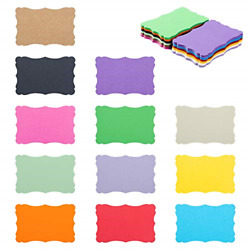 120 Pieces Small Mini Business Cards Vintage Assorted Colors Blank Note Cards 12 $11.54