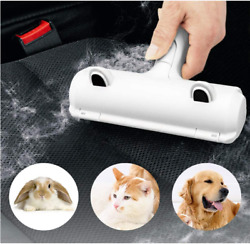 ChomChom Roller Pet Dogs Cats Hair Remover W Cute Cat Ear 100% Reusable NEW $13.99