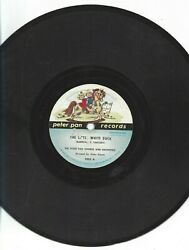 78 RPM 10quot; Peter Pan 2255 Record Little White Duck Pony Boy Sung by Jack Arthur $14.99