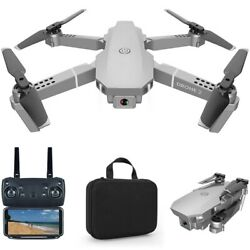 E68 RC Drone 4K HD Camera WiFi FPV Foldable Quadcopter Drones with Carry Case $36.26
