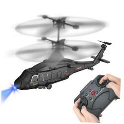 Remote Control Helicopter RC Army Heli Toy with Gyro amp; Led for Kids Boys Girls A $28.62