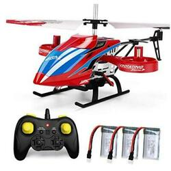 4CH RC Helicopter with Remote Control Fly Sideway Helicopter Altitude Hold wit $55.78